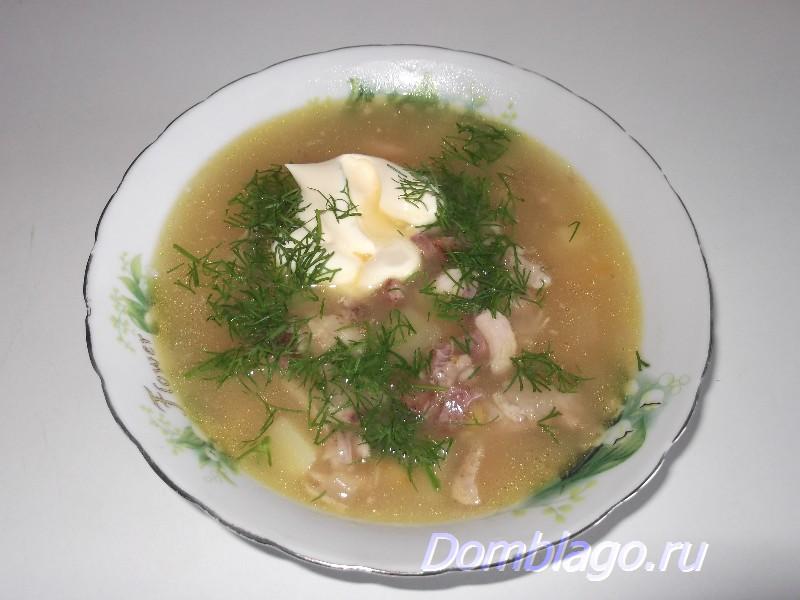 Гороховый суп. Рецепт с фото.