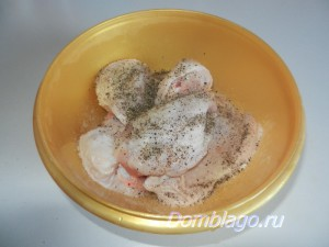 Запеченные куриные бедрышки