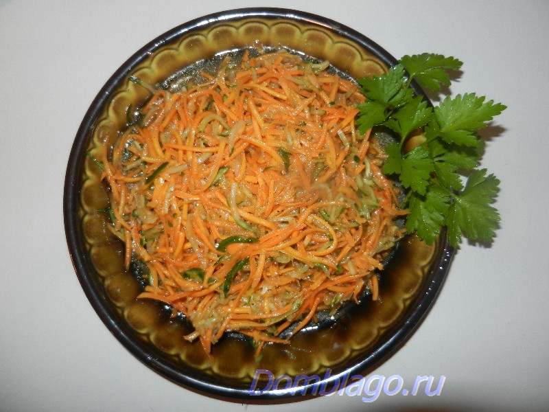 Салат из моркови под шашлычок и не только. Рецепт с фото.
