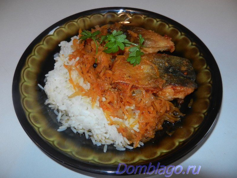 Жареная рыба под маринадом. Рецепт с фото.