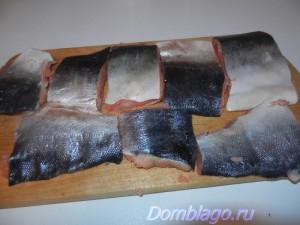 Жареная рыба под маринадом
