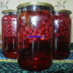 компот из красной смородины без стерилизации
