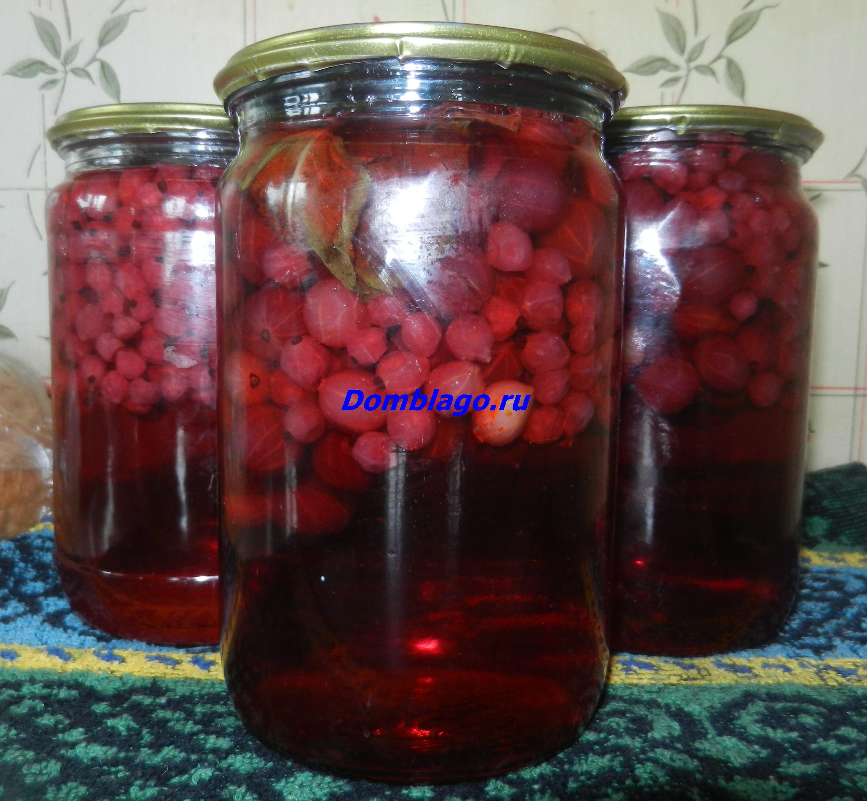 Концентрированный компот из красной смородины без стерилизации. Простые заготовки на зиму. Рецепт с фото.