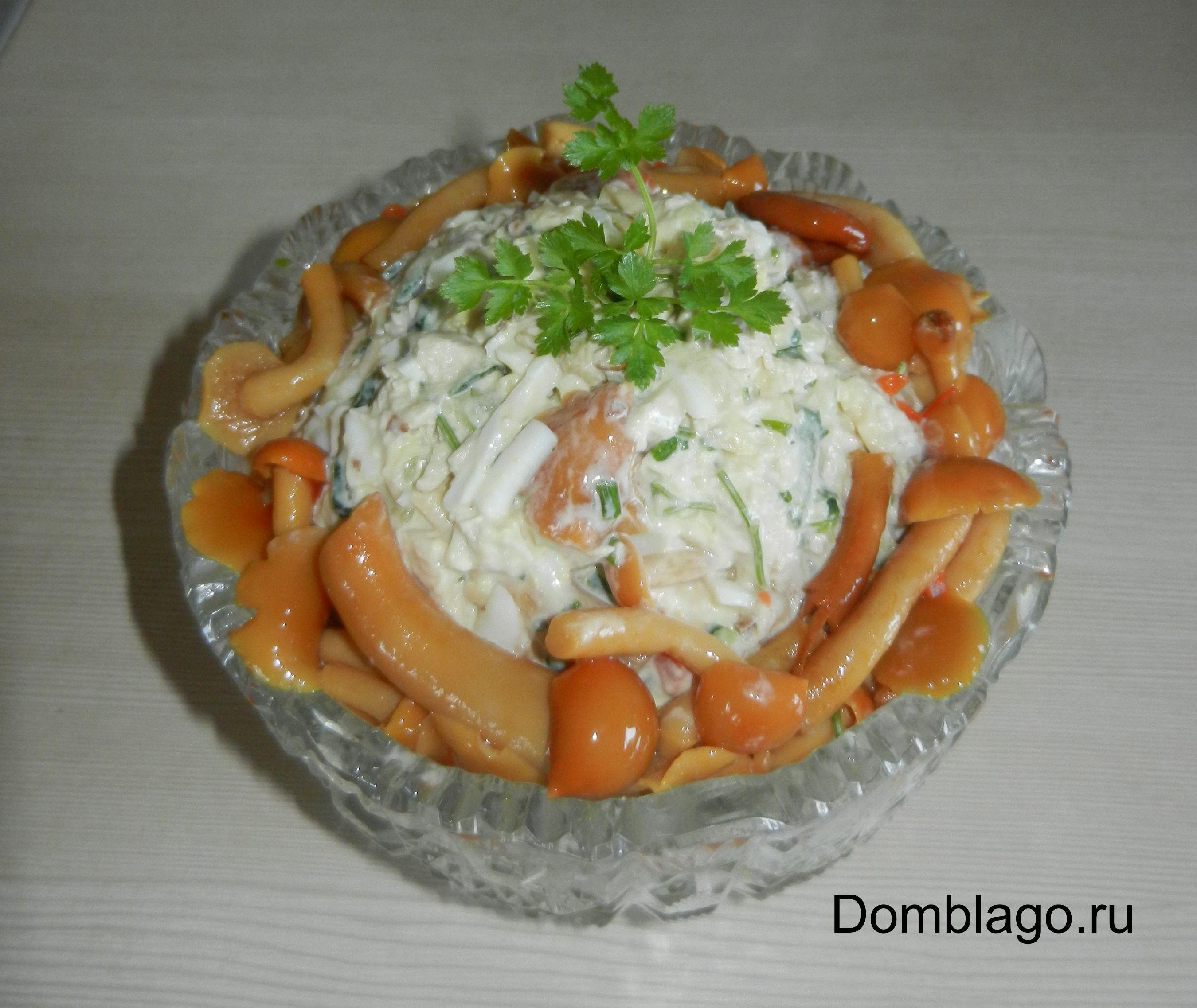 Салат с браслет рецепт пошагово с курицей и картошкой