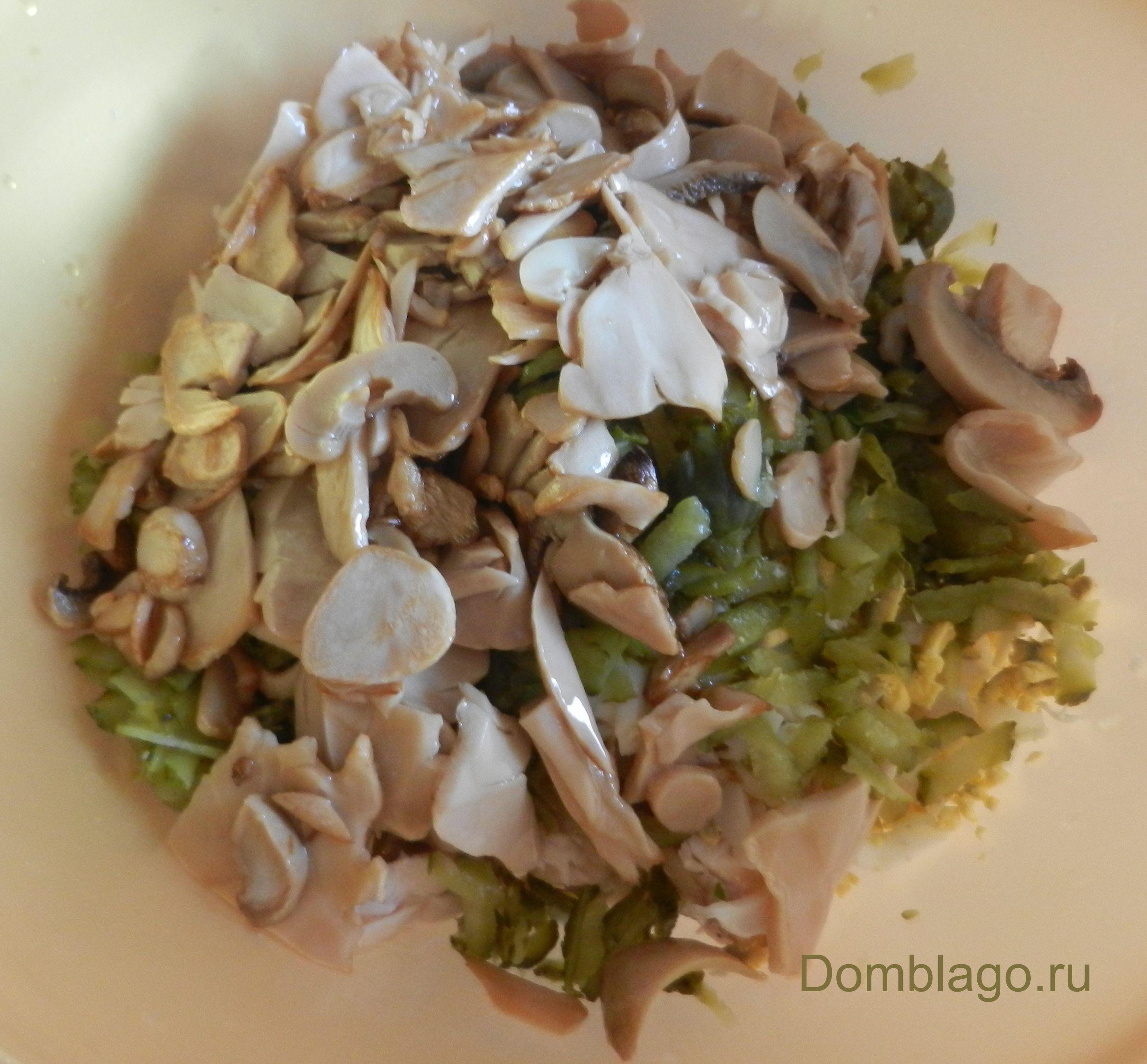 Салат с соленым арахисом рецепт с фото