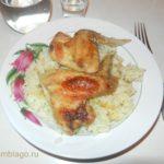 Рис с курицей в духовке. Рецепт с фото.