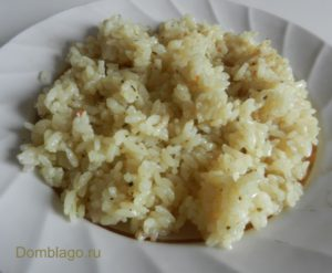 Вкусный рассыпчатый рис