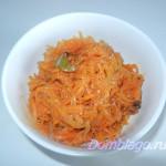 Маринад из моркови