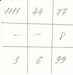тест личности квадрат Пифагора