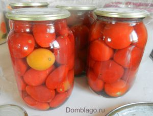 Рецепт томатов в собственном соку без уксуса