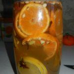Новогодняя мандариновая настойка на водке. Рецепт с фото.
