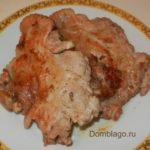 Отбивные из курицы на сковороде