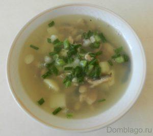 Суп из мойвы свежемороженой